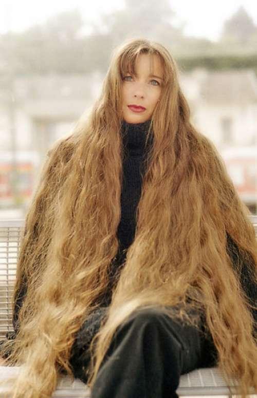 Длинные волосы у девушек