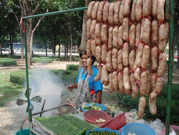 Колбаса из перебродившего риса