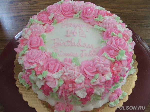 Украшение тортов.