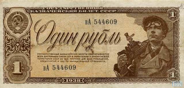 Российских купюр с 1923 года