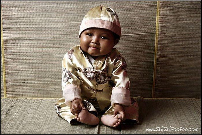 Дитя красивый ребенок 3