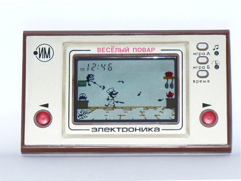 """...двадцати лет, без всяких исключений, знакомство с портативными игровыми консолями начиналось с  """"Электроники """"."""