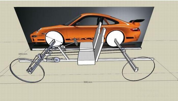 Машина велосипед своими руками