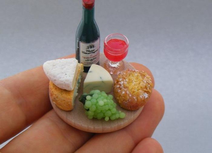 Еда для кукол из пластики своими руками видео