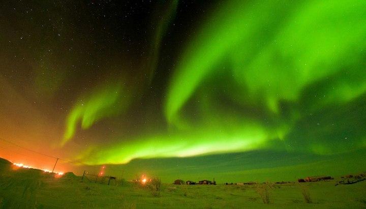 Красивые фото северного полярного