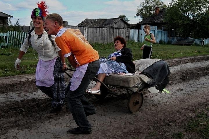 2 день свадьбы в деревне