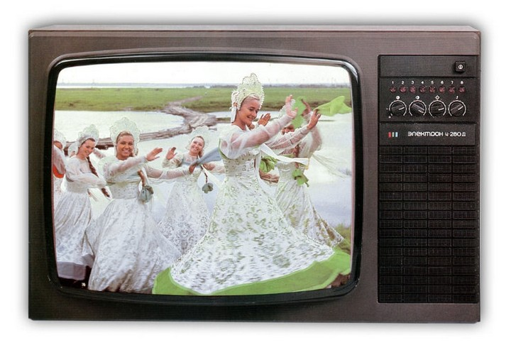 Большая подборка телевизоров, сделанных в СССР.  Признавайтесь, у кого какой был?