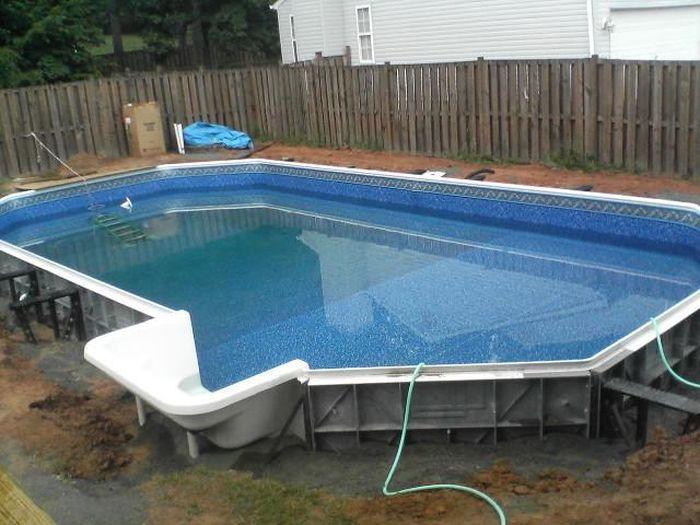 Соорудить бассейн своими руками