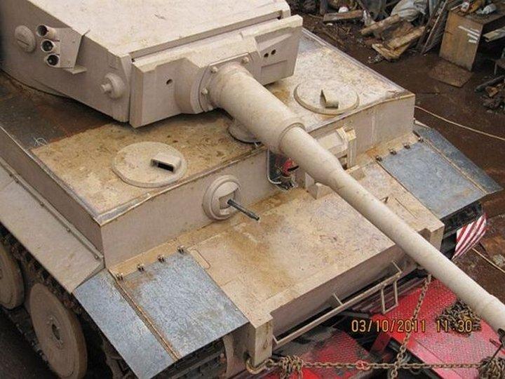 Модель танка тигр 1 своими руками