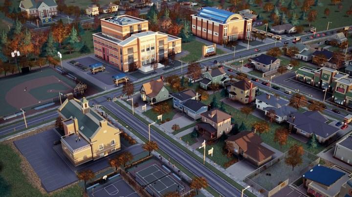 Начальная школа в SimCity