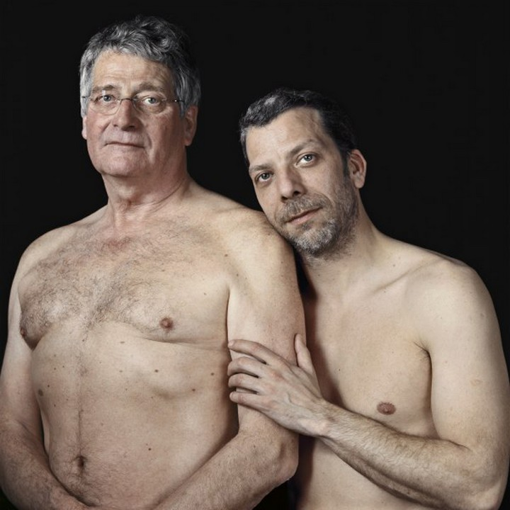 голая отец фото