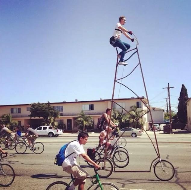 самый высокий велосипед (2)