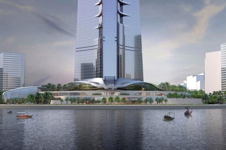 Строительство самого высокого небоскреба в мире в Саудовской Аравии (7)