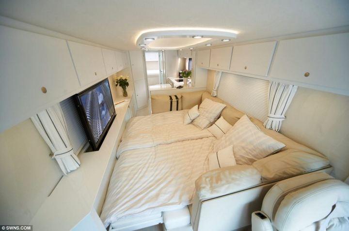 Volkner Mobil Performance — самый дорогой и роскошный дом на колесах, красивый автобус (7)