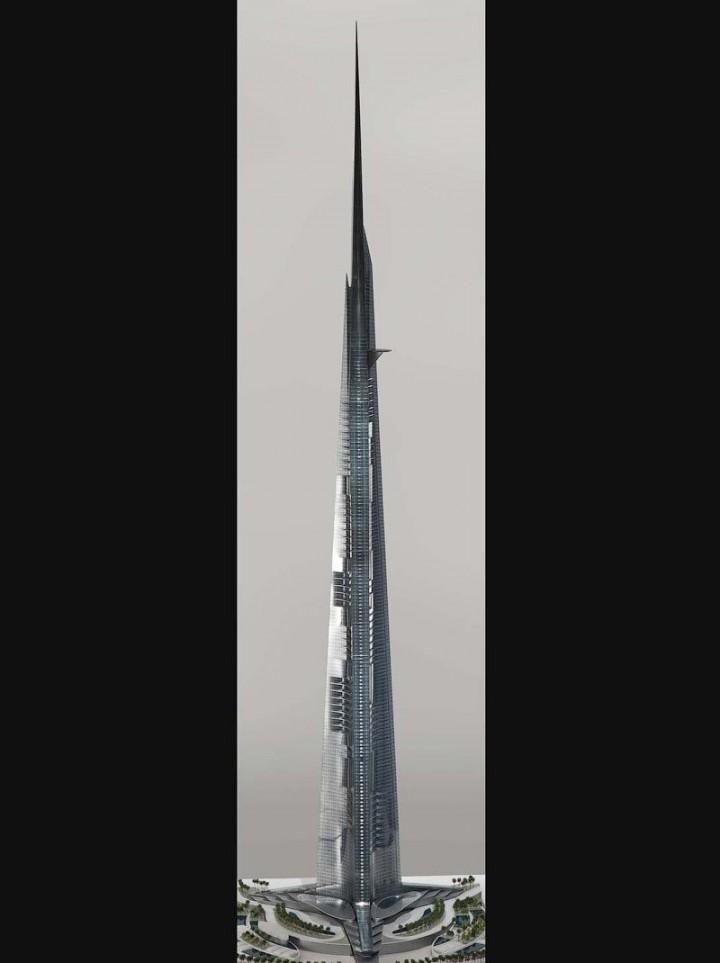Строительство самого высокого небоскреба в мире в Саудовской Аравии (6)