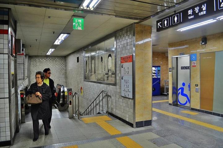 Как выглядит метро в Южной Корее (5)
