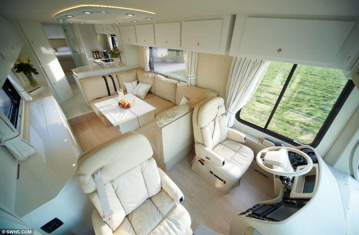 Volkner Mobil Performance — самый дорогой и роскошный дом на колесах, красивый автобус (1)