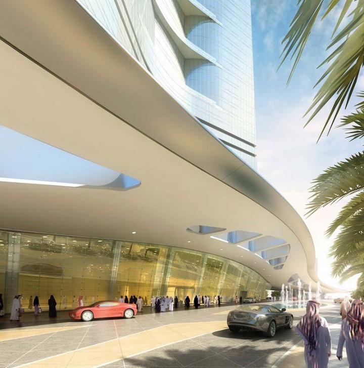 Строительство самого высокого небоскреба в мире в Саудовской Аравии (4)