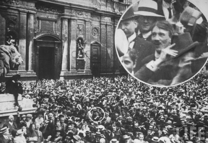 Адольф Гитлер. Жизненный путь в фотографиях (8)