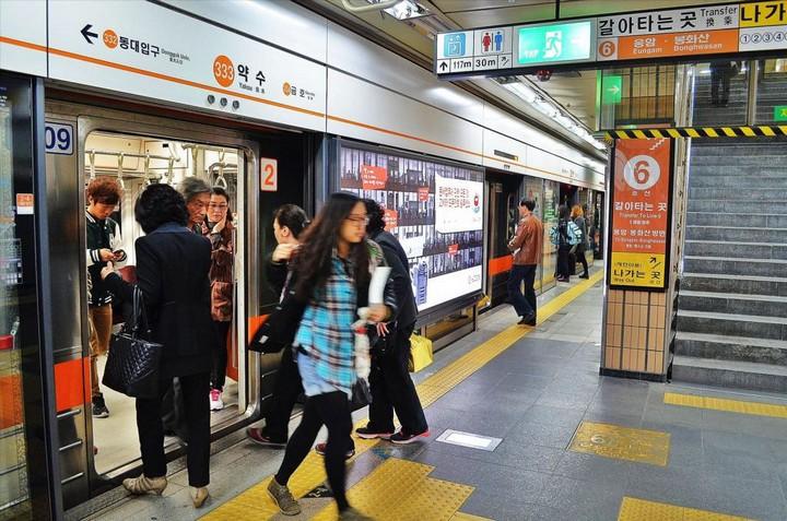 Как выглядит метро в Южной Корее (11)