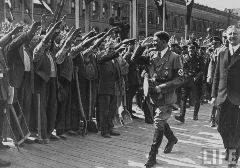 great depression and person adolf hitler
