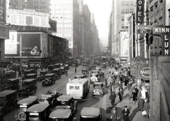 Ретро фотографии Нью-Йорка начала 20 века (7)
