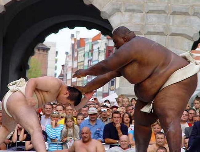 самый тяжелый сумоист в мире, самый большой спортсмен в мире, большой человек (8)