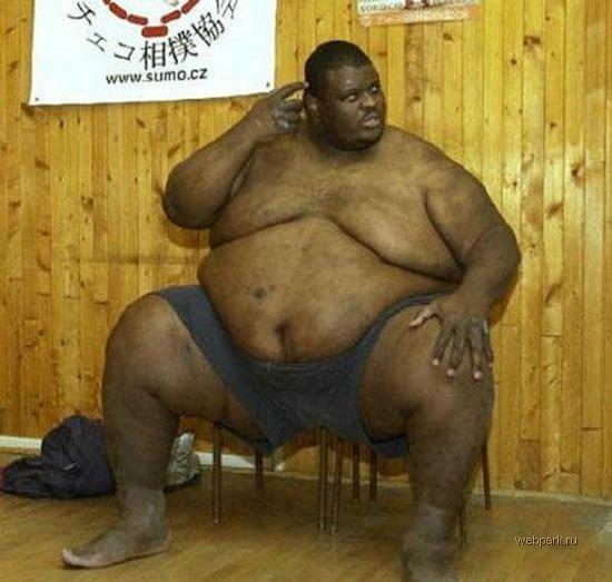 самый тяжелый сумоист в мире, самый большой спортсмен в мире, большой человек (4)