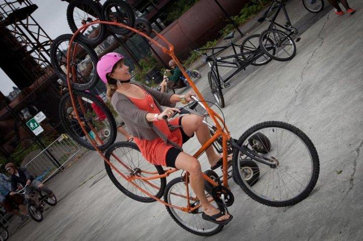 Самые необычные велосипеды, переделка велосипедов (32)