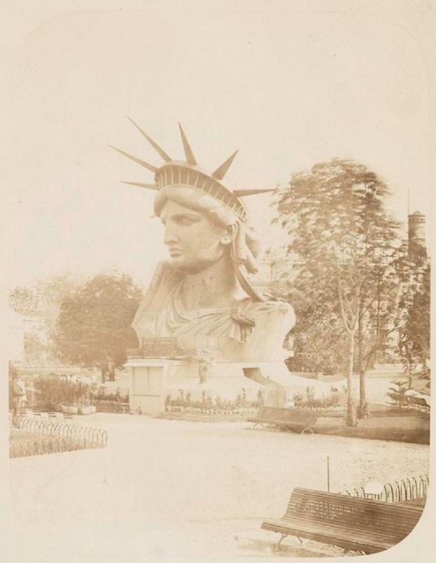 Как строили статую Свободы в Нью-Йорке, старые фото (1)