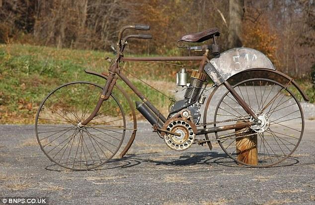 """""""Camelback 1906"""" - самый старый мотоцикл в мире (1)"""