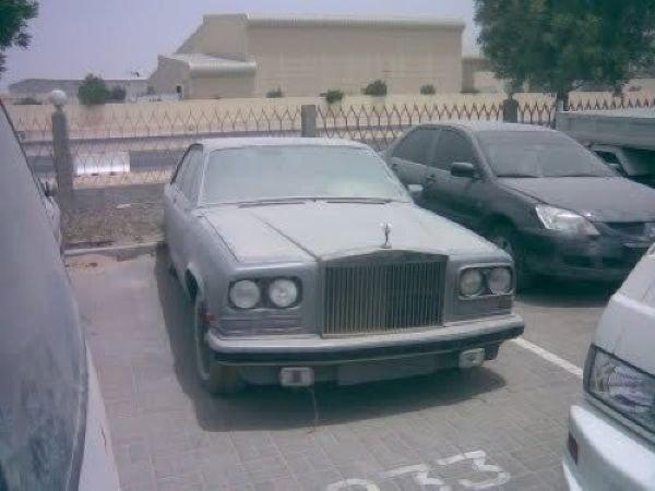 Брошенные дорогие автомобили в Дубае, редкие автомобили (13)
