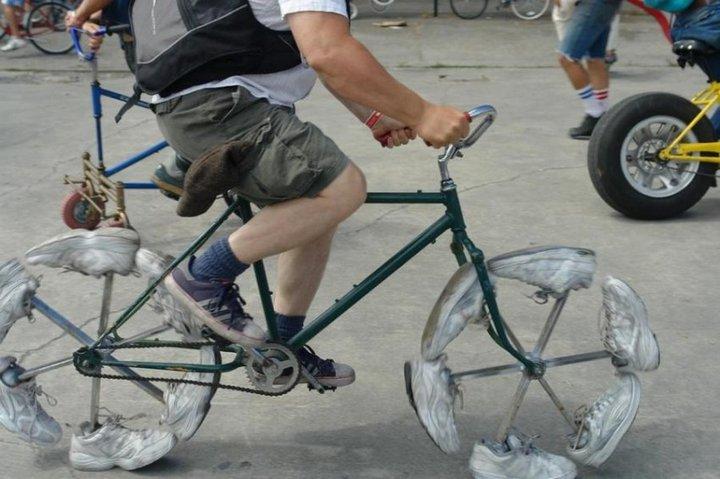 Самые необычные велосипеды, переделка велосипедов (31)