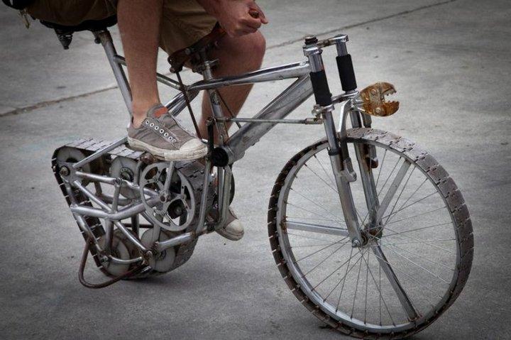 Самые необычные велосипеды, переделка велосипедов (29)