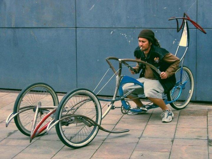 Самые необычные велосипеды, переделка велосипедов (24)
