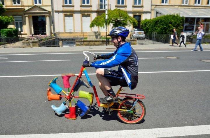 Самые необычные велосипеды, переделка велосипедов (23)