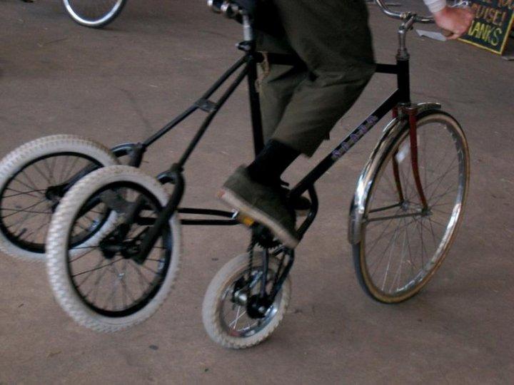 Самые необычные велосипеды, переделка велосипедов (15)