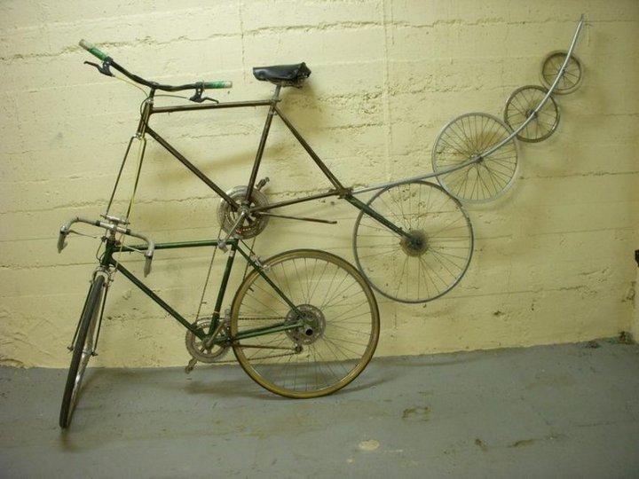Самые необычные велосипеды, переделка велосипедов (8)