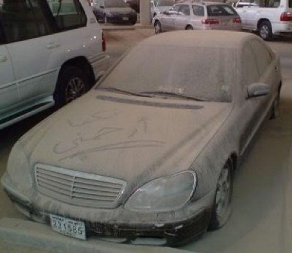 Брошенные дорогие автомобили в Дубае, редкие автомобили (14)