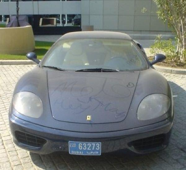 Брошенные дорогие автомобили в Дубае, редкие автомобили (16)