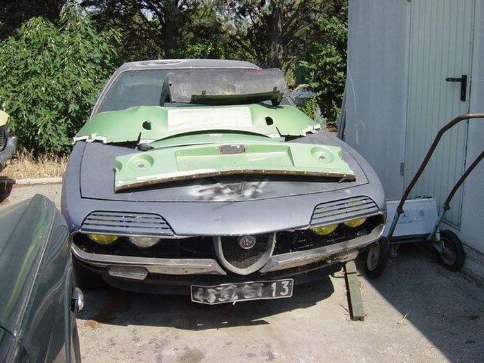 Брошенные дорогие автомобили в Дубае, редкие автомобили (19)