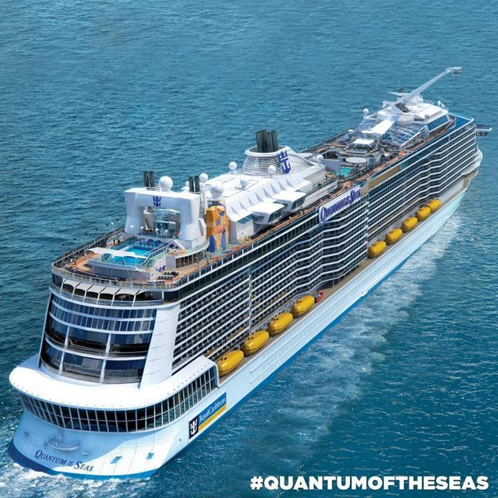 Роскошный круизный корабль Quantum of The Seas, новый круизный лайнер (2)