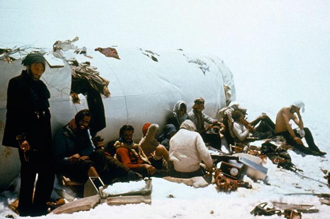 Крушение в Андах. Удивительный случай, авиакатастрофа (3)