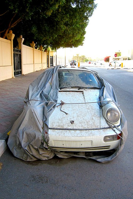 Брошенные дорогие автомобили в Дубае, редкие автомобили (3)