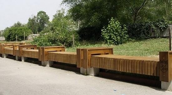 Самая длинная скамейка в мире в Болгарии (4)