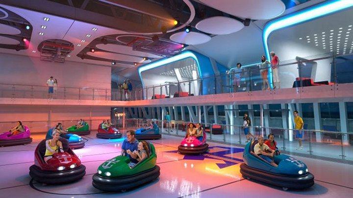 Роскошный круизный корабль Quantum of The Seas, новый круизный лайнер (13)