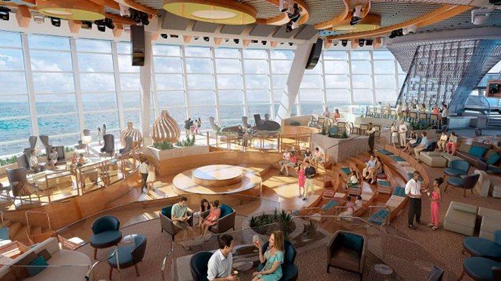 Роскошный круизный корабль Quantum of The Seas, новый круизный лайнер (12)