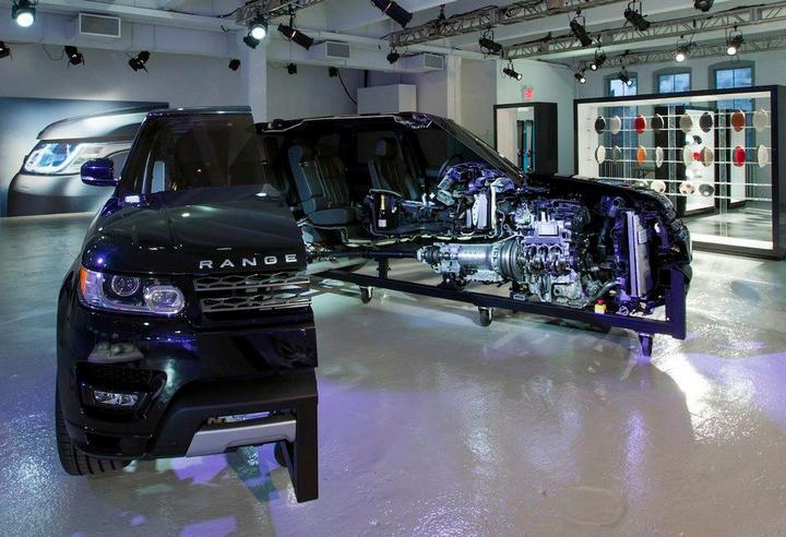 Range Rover в разрезе