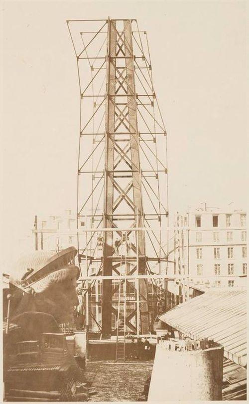 Как строили статую Свободы в Нью-Йорке, старые фото (8)