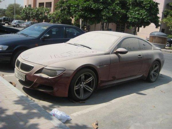 Брошенные дорогие автомобили в Дубае, редкие автомобили (9)